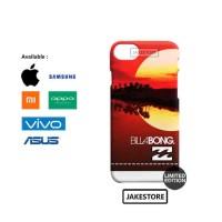 case iphone 8  Billabong Red sunset Artwork  hardcase