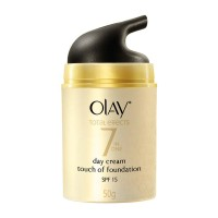 Olay Total Effects 7 in One Day Cream Touch of Foundation SPF 15 50gr
