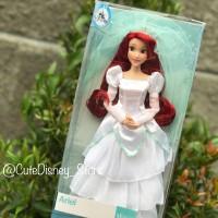 Wedding Ariel classic doll original disney store USA