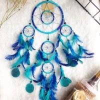 Jual Dreamcatcher Blue ocean bells Murah