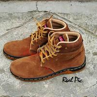 Jual Sepatu Wanita Cewek Sepatu Murah Sepatu Boot Kickers Tan Terlaris Murah