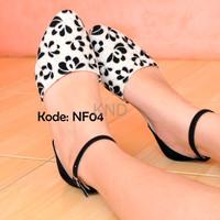 Jual Sepatu Wanita Cewek Flat Shoes Nf04 Sepatu Flat Balet Nf04 Terlaris Murah