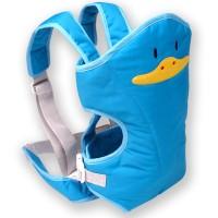 Lusty Bunny Gendongan Bayi Baby Carrier Motif DUCK Blue