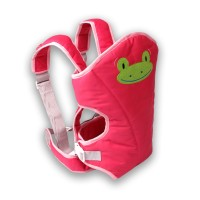 Lusty Bunny Gendongan Bayi Baby Carrier Motif Frog Pink