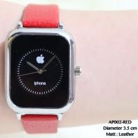 Jam tangan apple watch iphone analog tali kulit leather grosir fossil