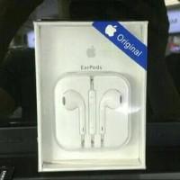 Jual HANSFREE HEADSET IPHONE 5/6 ORIGINAL 100% EARPHONE EARPODS Murah