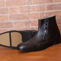 harga Sepatu Pantofel Boots Kulit Asli Tanpa Tali Tokopedia.com