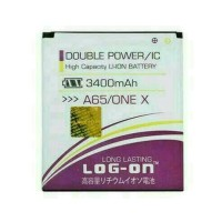 Batre Dobel Power Evercoss A65/one X Baterai Log On Double Power/2 Ic