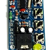 FM Radio Kit 76MHz-108MHz Wireless Stereo Audio Receiver DIY Module