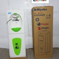 Miyako dispenser berdiri panas- dingin WD 389HC /hot n cool dispenser