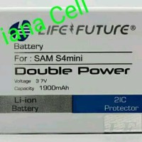 Baterai Batre Batere Battery Samsung Galaxy S4 Mini I9190 Double Power