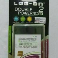 Batre Dobel Power Mito Fantasy U/A60/BA-00076 Baterai Log On Double IC