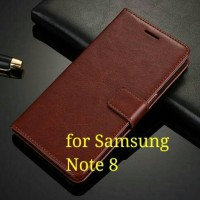 Flip Cover Samsung Galaxy Note 8 Note8 Wallet Leather Case