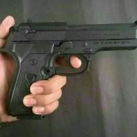 korek api gas mancis unik barreta 9mm murah