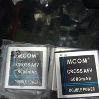 Baterai  Evercoss A5v Cross Cros Batere Batre Baterei Battery Mcom