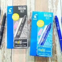 Pulpen Pen Pilot Frixion Point 0.7 Clicker (Pulpen yang bisa dihapus)