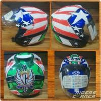 Helm TSR Convert Arai Ram 4 Nicky Hayden