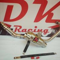 harga Knalpot Racing Akrapovic Gp Yamaha Scorpio Z Fullsystem Tokopedia.com
