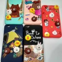 Case Timbul 3D Xiomi Redmi 4X Xiomi Softcase Casing Cover Hp