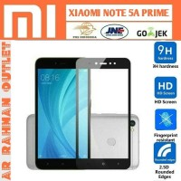 Xiaomi redmi NOTE5A NOTE 5A prime tempered glass color warna layar hp