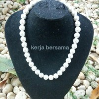 harga Kalung Kulit Kerang Asli 45cm Tokopedia.com