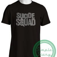 Jual MURAH Kaos Distro Gildan Softstyle Tshirt Suicide Squad KRMK CLTH Murah
