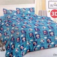 Jual Sprei Romeo ukuran 160 x 200 / Queen / No.2 - Doraemon Murah
