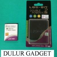 Jual Baterai Samsung Note 1 N7000 i9220 Baterai Log On Double Power IC Murah