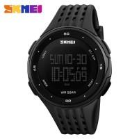 Jam tangan SKMEI Jam Tangan Digital Pria DG1219 Black