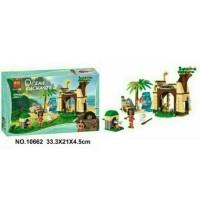 Lego Bela Ocean Echanted 10662 Princess Vaiana Moana Ocean 206PCS