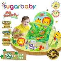 Jual (Dijamin) BOUNCER ROCKER SUGAR BABY GREEN - BOUNCER BAYI Murah