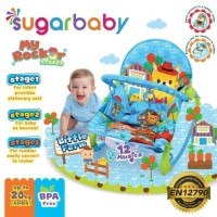 Jual (Sale) BOUNCER ROCKER SUGAR BABY BLUE - SUGAR BABY BOUNCER 3 STAGES Murah