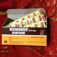 DEXAHARSEN (Dexamethasone). 0.5 mg