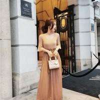 Jual Wide Pants - Celana Panjang Wanita Brown Sweet Classic (S) 333137 Murah