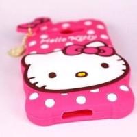 Jual HOT !! Case 4 Hello Kitty Cuties Oppo Neo 7 A33T Karakter softsilicon  Murah