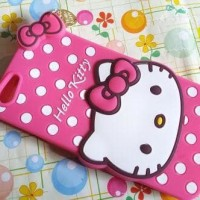 Jual LIMITTED Case 4 Hello Kitty Cuties Oppo F1S A59 Karakter softsilicon   Murah