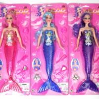 Jual Kado Mainan Anak Boneka Mermaid Dear Nyala Lampu  Murah