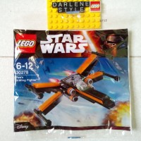 Jual LEGO Star Wars Poe's X-Wing Fighter 30278 Polybag  Murah