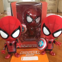 COSBABY THE AMAZING SPIDERMAN FIGURE CHIBI HOT TOYS HT