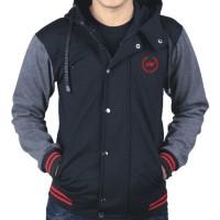 Jual Sweater Fleece Pria - Jaket Pria Original Catenzo HR 077 Murah