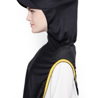 HIJAB INSTANT SPORT LONG RUNNER | Black List Yellow