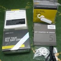 harga Headset Bluetooth Jabra Boost White Gold Original Garansi 1 Tahun Tokopedia.com