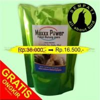 harga Pakan Burung Lovebird Kenari  Lolohan Hand Feeding Maxxx Power 250 Gr Tokopedia.com
