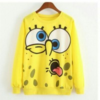 Jual BEST SELLER Sweater cewek spongebob sweater murah Murah