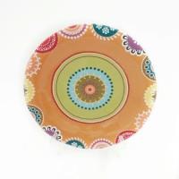 harga Piring Makan / Hias Sango Motif Maroko Kaleido Tokopedia.com