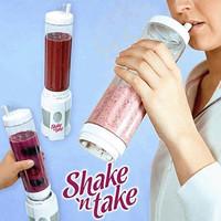 Jual Blender Gelas 2 Tabung (shake n take, alat pembuat jus) Murah