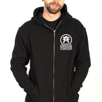Hoodie Zipper American Fighter - Station Apparel