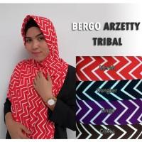 Jual New Hijab/Jilbab Bergo Arzetty Tribal Murah