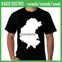 Kaos I Love Samarinda 7 LV51 Oblong Distro