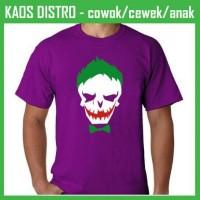 Jual Kaos Suicide Squad Joker MG77 Oblong Distro Murah